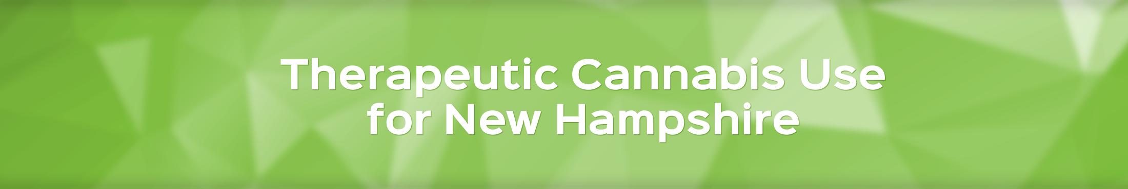 Therapeutic cannabis in New Hampshire